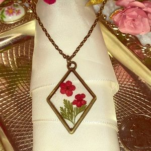 Evalina's Creations Jewelry - Real flower handmade jewelry